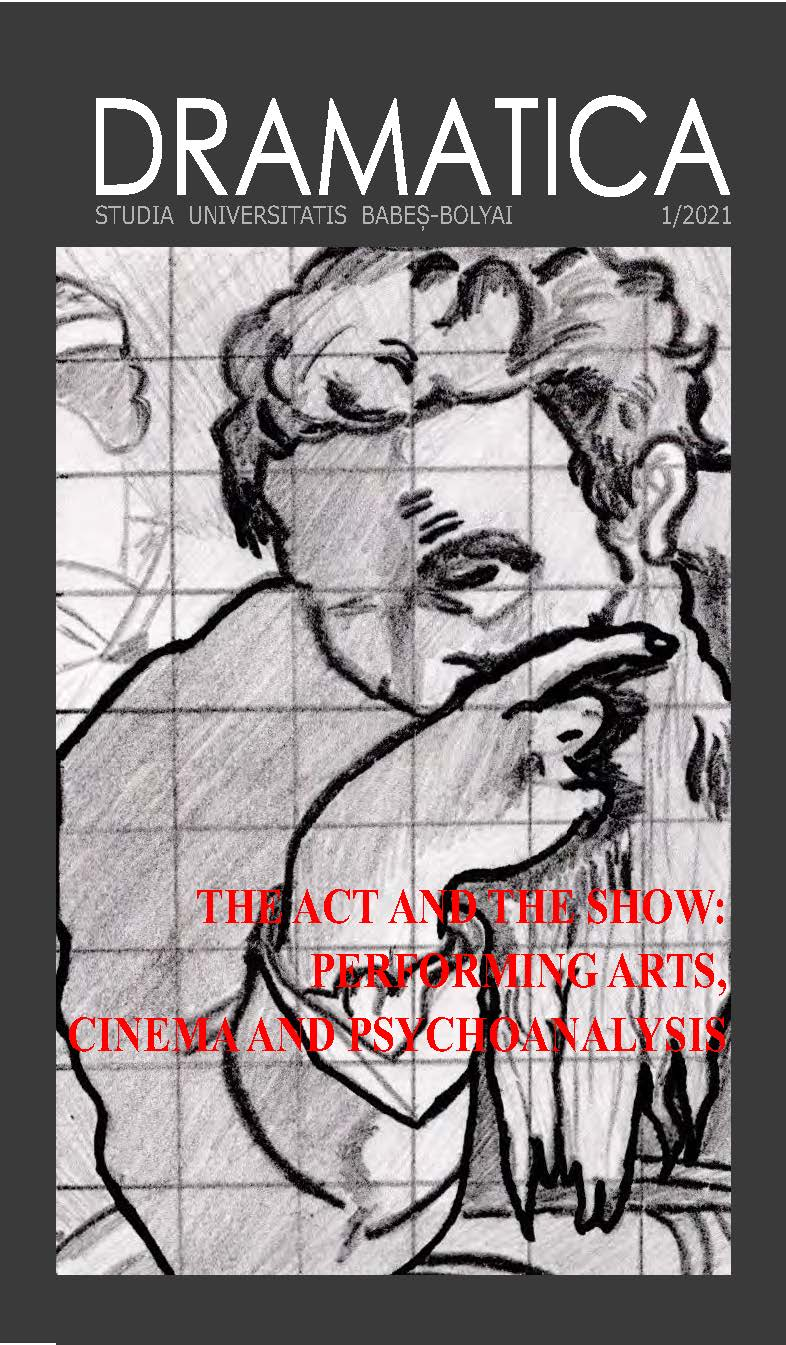 View Vol. 66 No. 1 (2021): The Act and the Show: Performing Arts, Cinema and Psychoanalysis